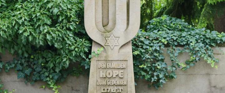 Gedenkstein für die Familie Hope