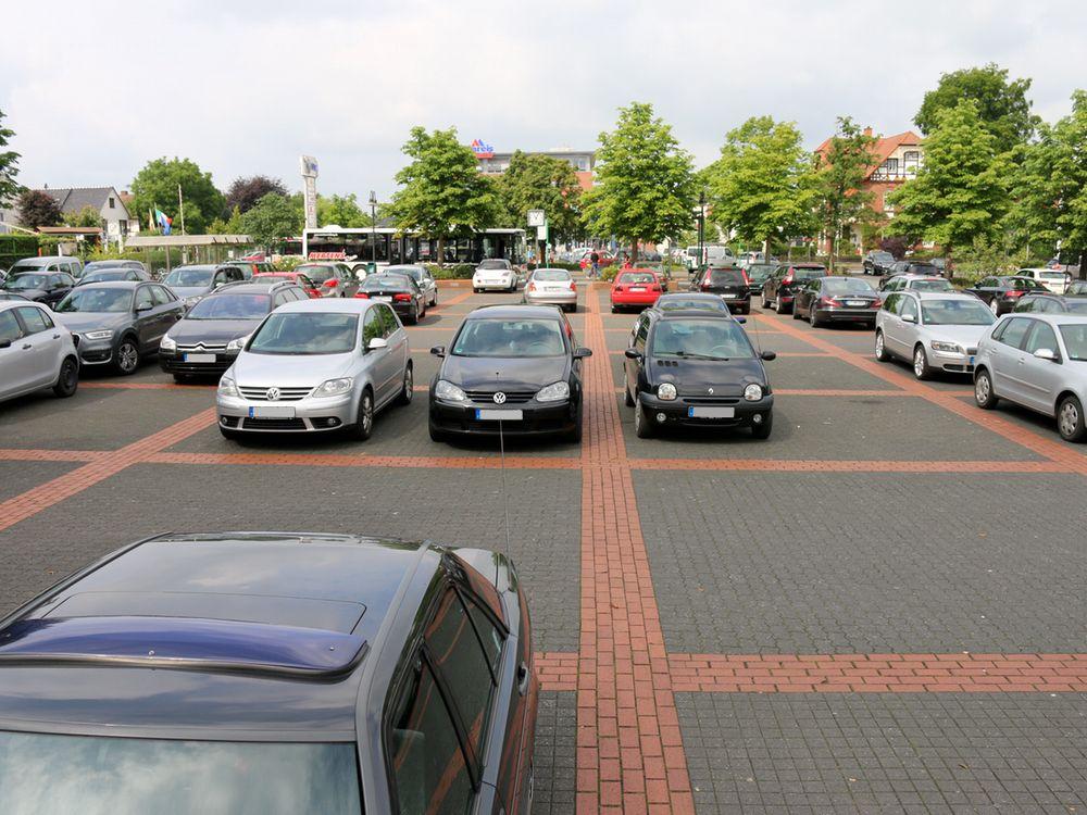 Parkplatz am Marktplatz