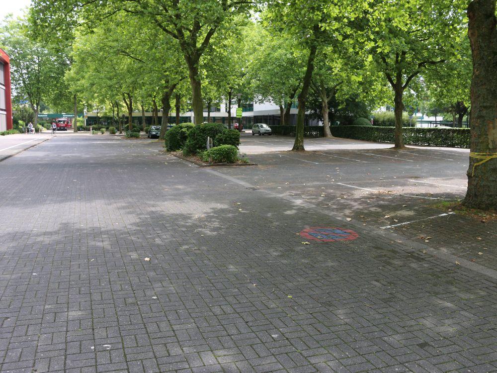 Parkplatz am Schulzentrum